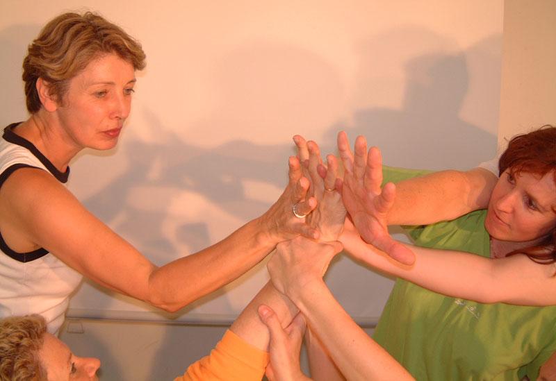 Nähe und Distanz Vertrauen in Körperpsychotherapie Gruppe